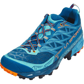 La Sportiva Akyra Running Shoes Men Ocean/Flame